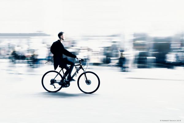 Mit dem Fahrrad durch den Traum …